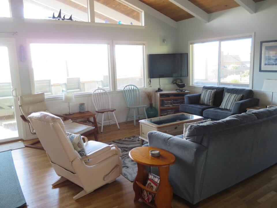 Our rental beach house in Lincoln City, Oregon Coast
