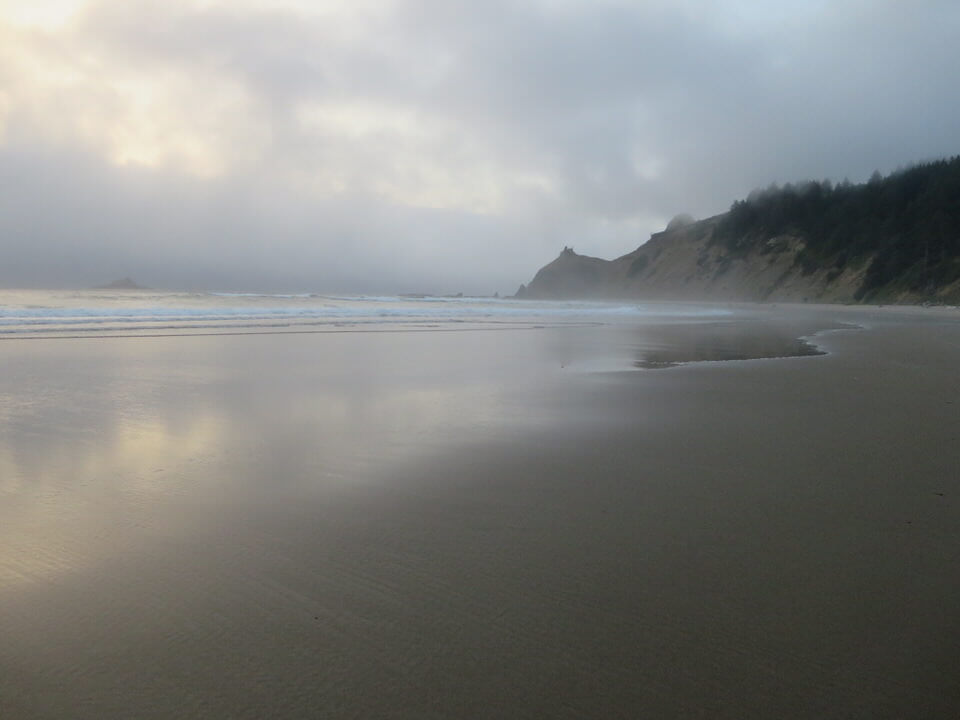 Lincoln City Beach, Oregon Coast