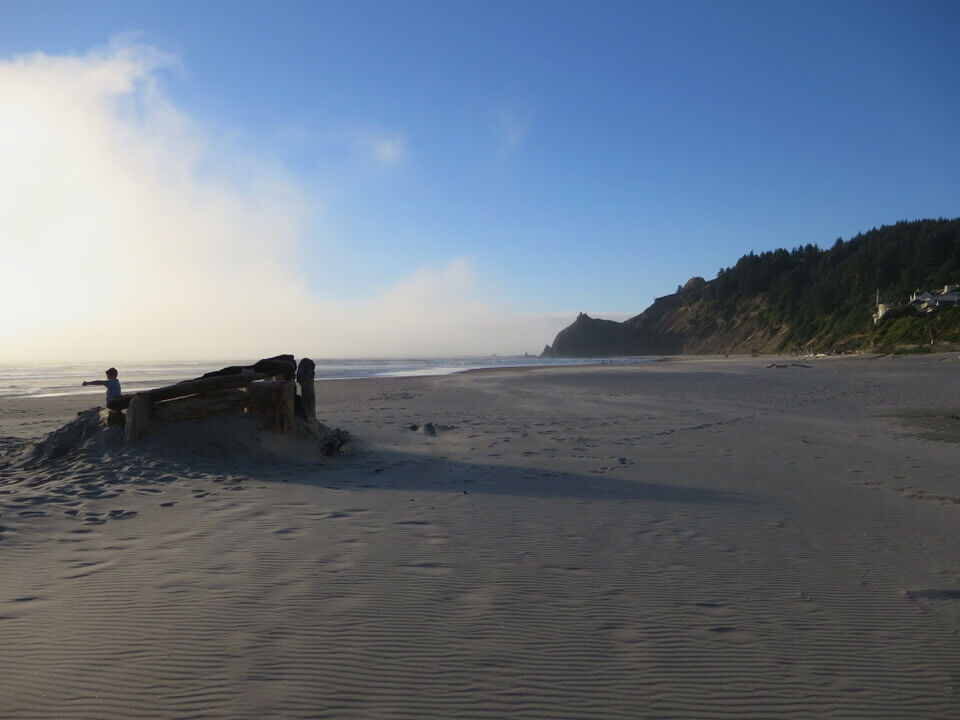 Roads End Beach, Lincoln City, Oregon Coast