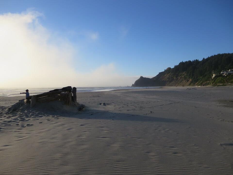 Roads End Beach, Lincoln City, Oregon Coast