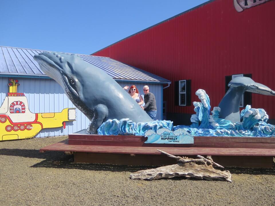 Fun in Newport, Oregon coast