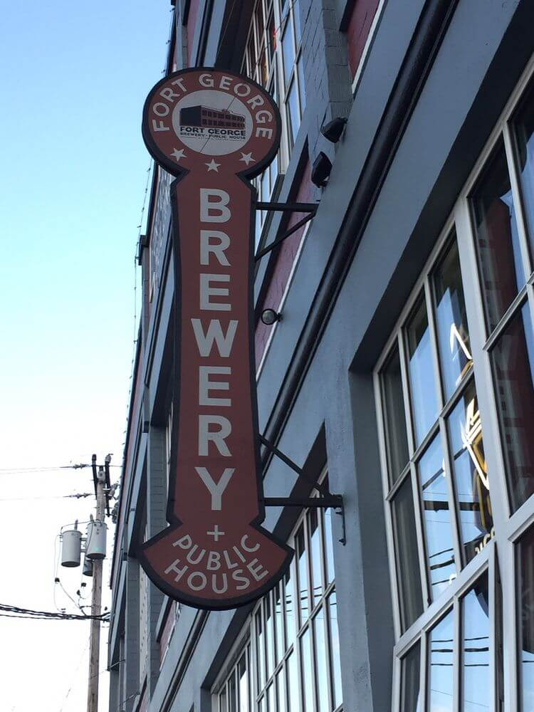 Fort George Brewery, Astoria Oregon Coast
