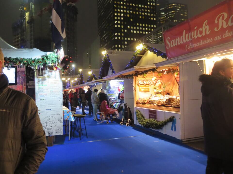 La Defense Christmas Market Paris