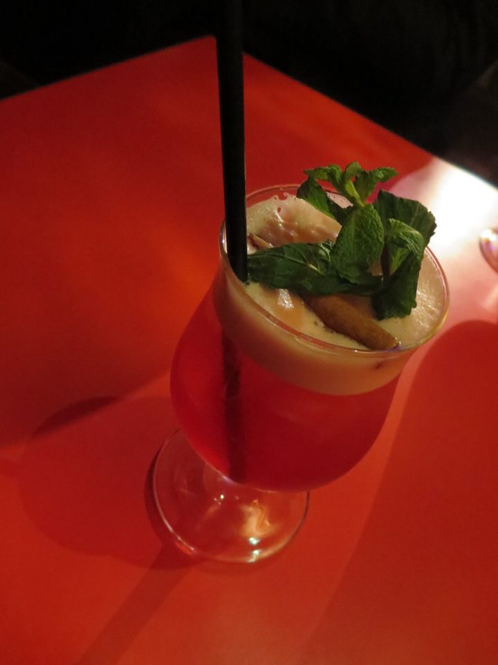 La Machete cocktail, Le Tiki Lounge, Paris