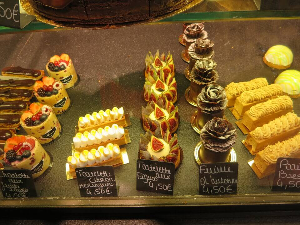 Gorgeous pastries at Miss Manon Bakery, Paris