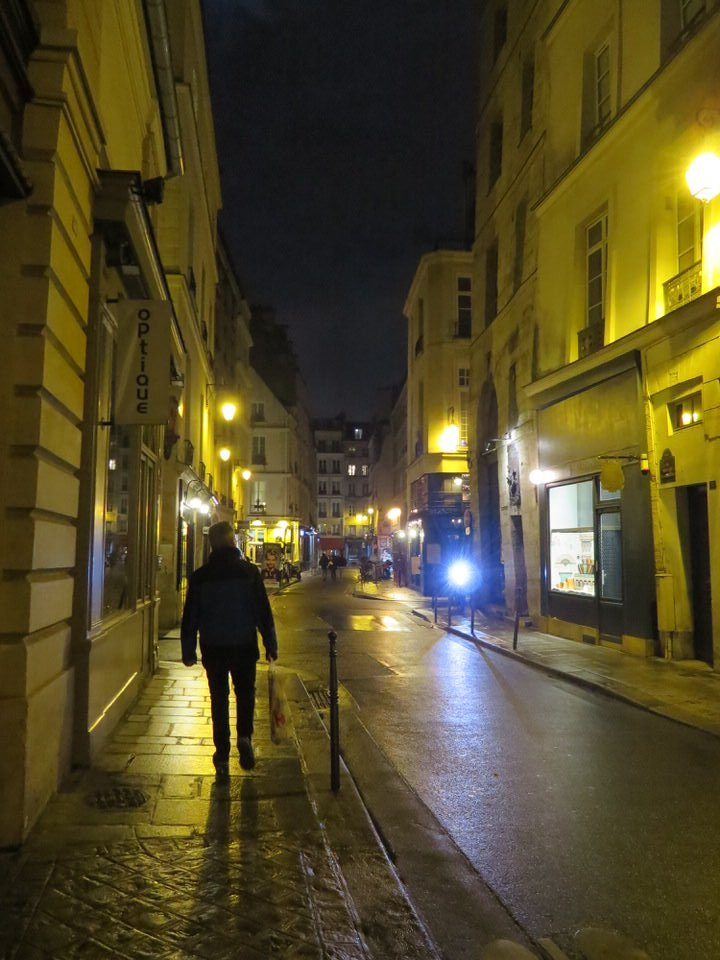 The Marais neighborhood, Paris