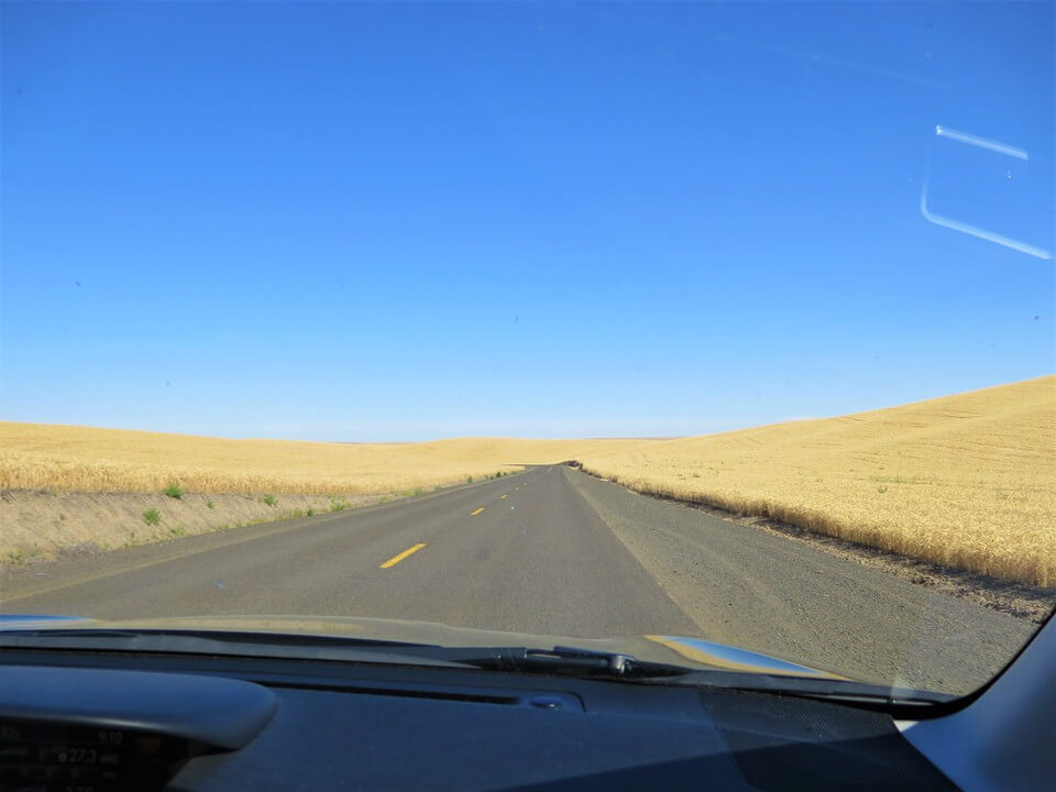Drive to Palouse Falls, Eastern Washington