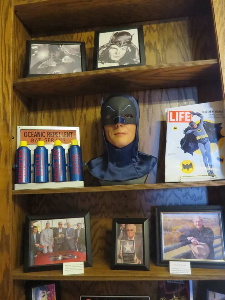 Batman room at the Kirkman House Museum