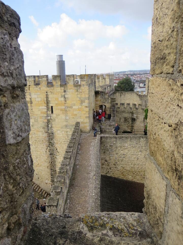 Castelo de Sao Jorge, Lisbon