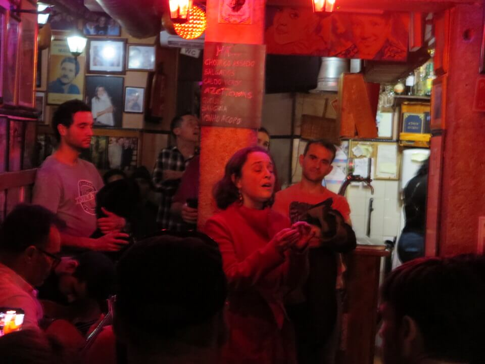 Fado at A Tasca do Chico, Lisbon
