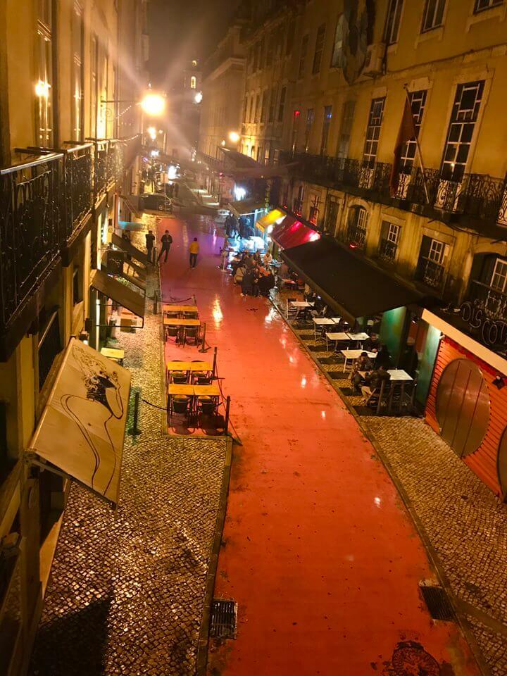 Pink Street, Cais do Sodré, Lisbon
