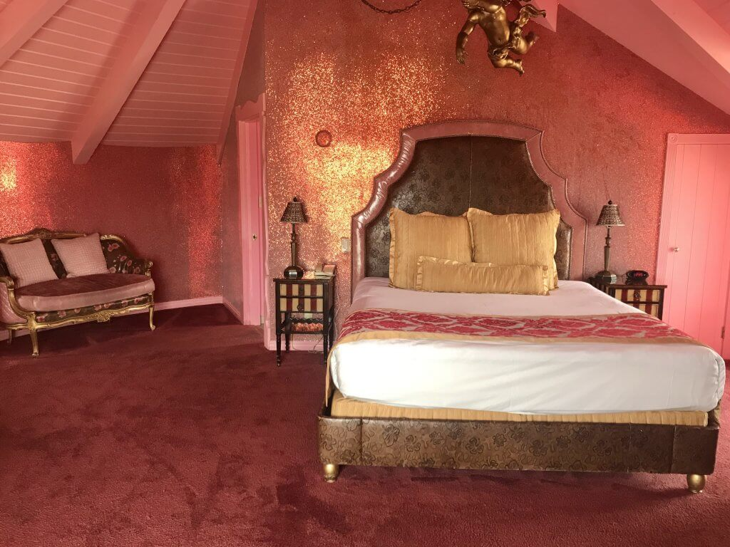 The Carin Room in the Madonna Inn, San Luis Obispo