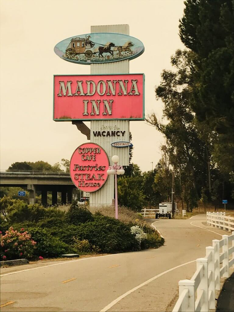 The Madonna Inn in San Luis Obispo