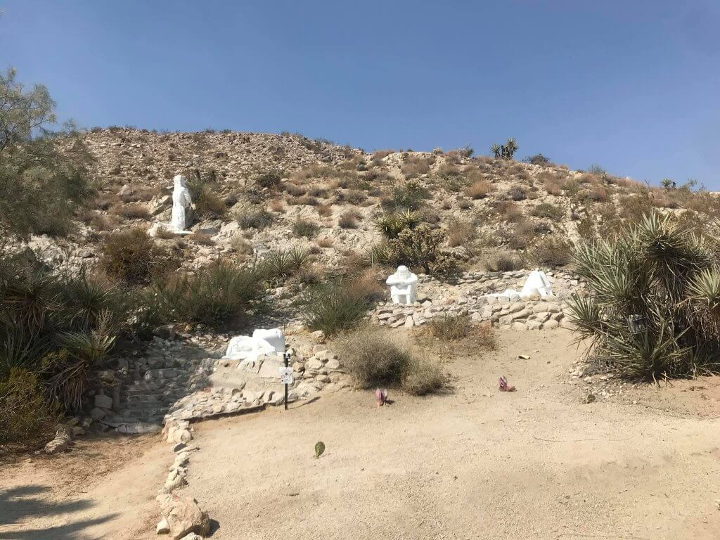 Desert Christ Park in Yucca Valley, CA