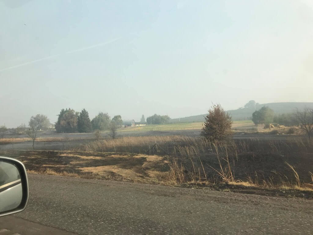 wildfire damage oregon